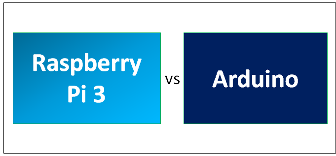Raspberry Pi 3 vs Arduino