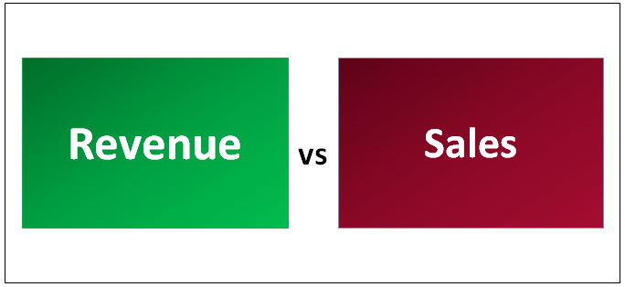 Revenue vs Sales