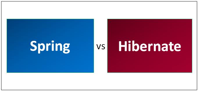 Spring vs Hibernate