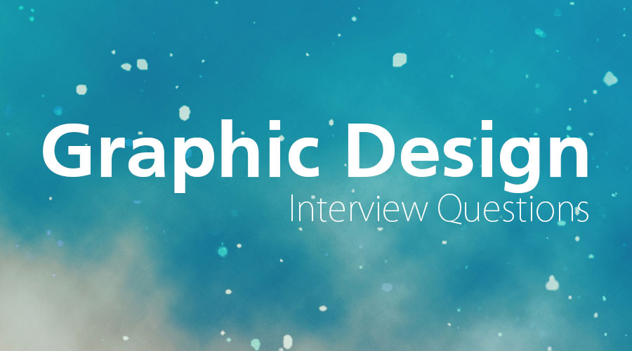 graphic design interview questions