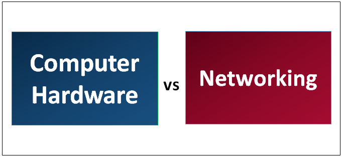 Computer Hardware vs Networking