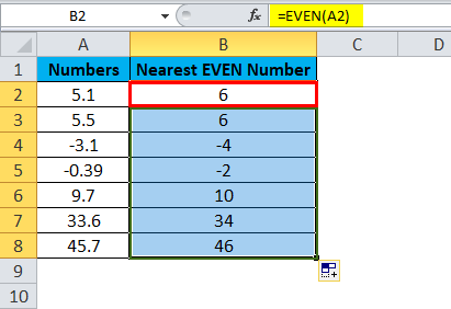 EVEN Example 1-3