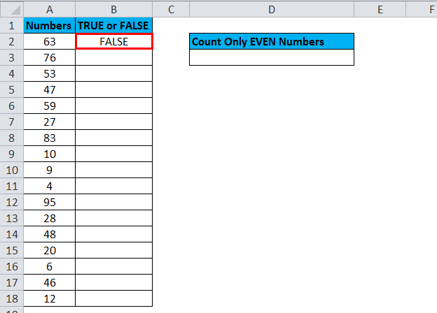 EVEN Example 2-2.1