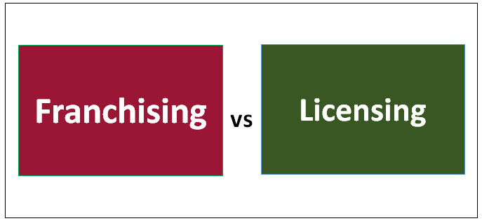 Franchising vs Licensing
