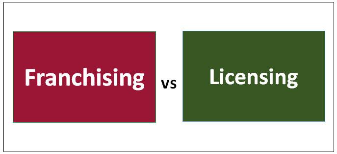 Franchising vs Licensing