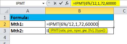 IPMT Example 1-1