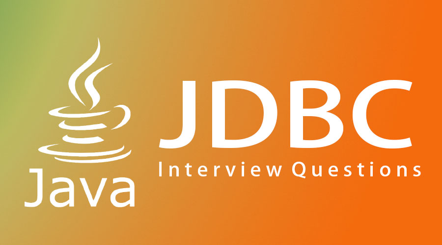 JDBC interview questions