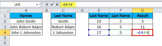 LEN Example 4-14