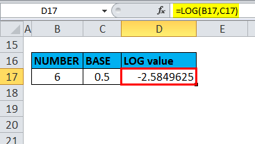 LOG Example 3-5