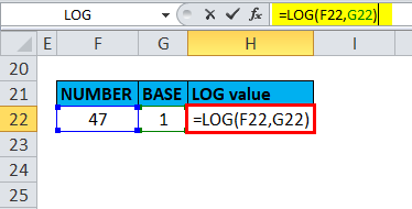 LOG Example 6-3.1