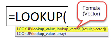 LOOKUP Function 1