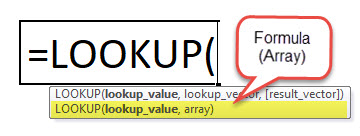 LOOKUP Function 2