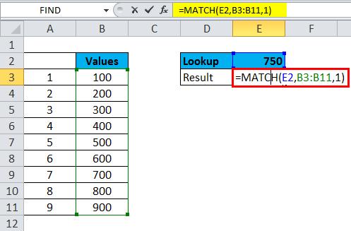 MATCH Approximate match
