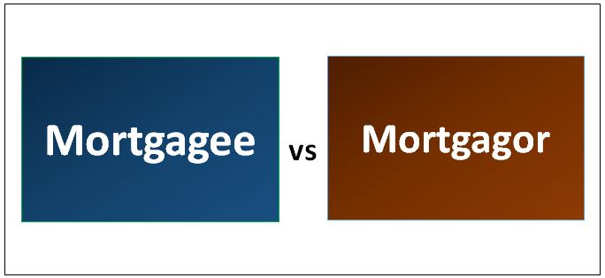 Mortgagee vs Mortgagor