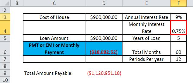 PMT Example 1-2