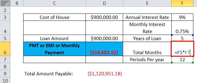 PMT Example 1-3
