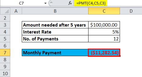 PMT Example 2-2