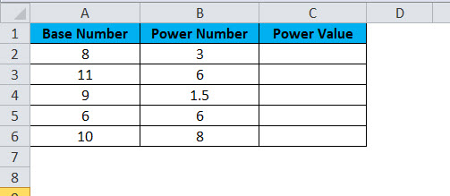 POWER Example 1-1