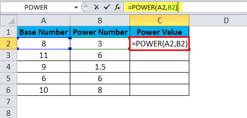 POWER Example 1-2
