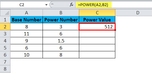 POWER Example 1-3
