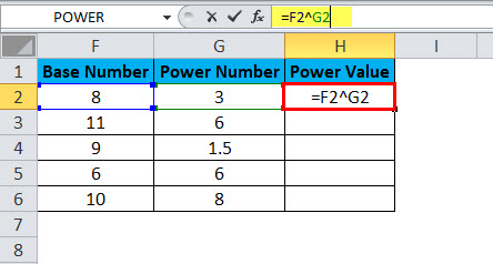 POWER Example 2-2