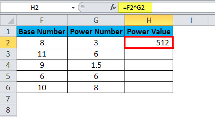 POWER Example 2-3
