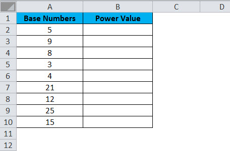 POWER Example 3-1