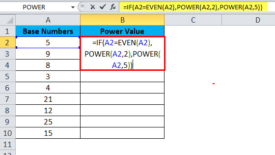 POWER Example 3-2