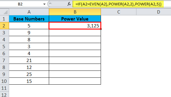 POWER Example 3-3