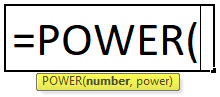 POWER Formula in Excel