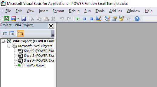 POWER in VBA 1
