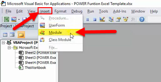 POWER in VBA 2