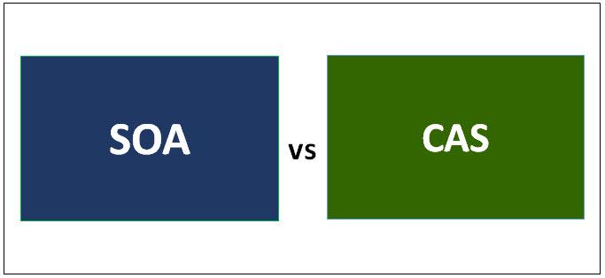 SOA vs CAS