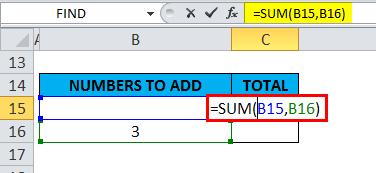 SUM Example 2