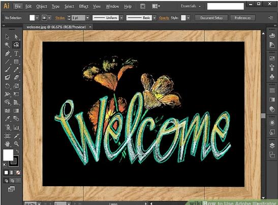 Adobe illustrator Starting