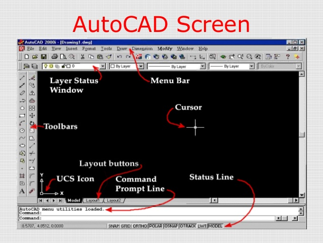 Autocad Screen