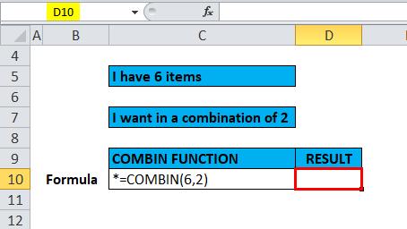 COMBIN Example 1-1