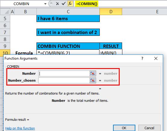 COMBIN Example 1-3