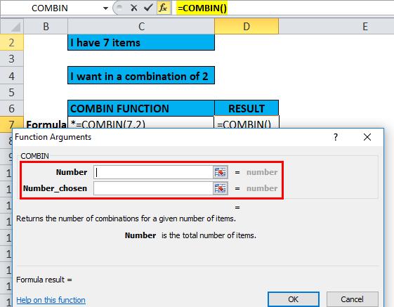 COMBIN Example 2-3