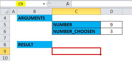 COMBIN Example 3-1