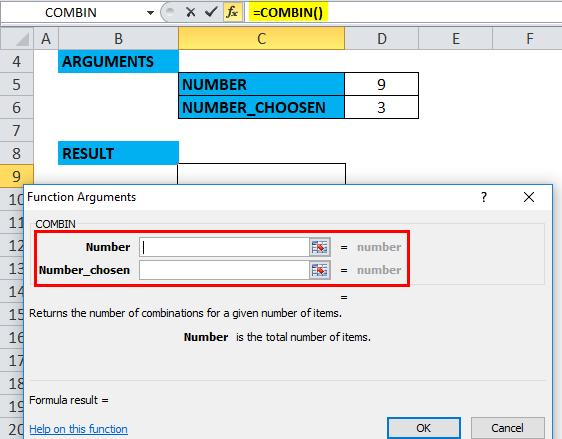 COMBIN Example 3-3