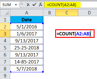 COUNT Example 2-1