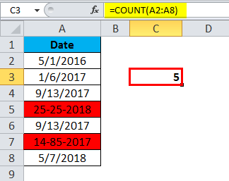 COUNT Example 2-3