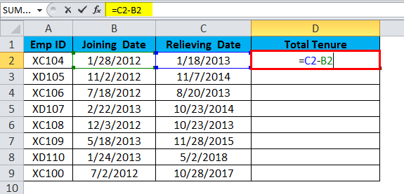 DATE Example 2.1
