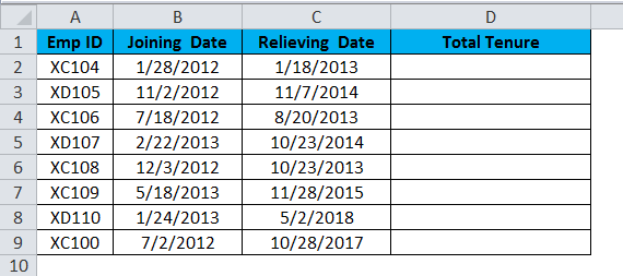 DATE Example 2