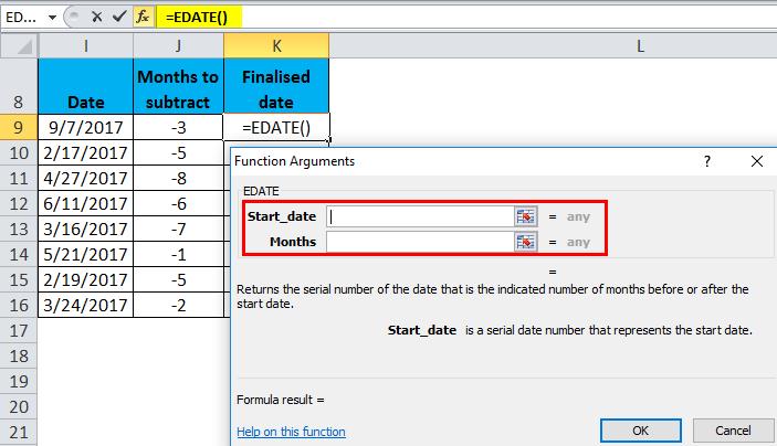 EDATE Example 2-4