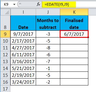 EDATE Example 2-7