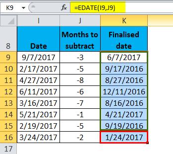 EDATE Example 2-8