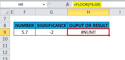FLOOR Example 4-5