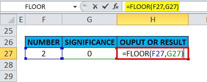 FLOOR Example 5-11